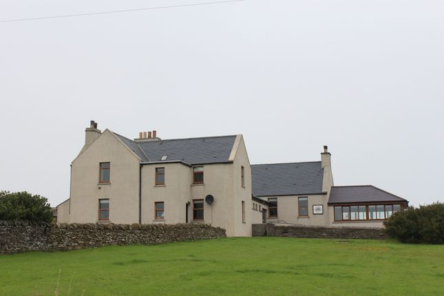 Thumbnail Detached house for sale in Stromabank Longhope, Hoy Orkney