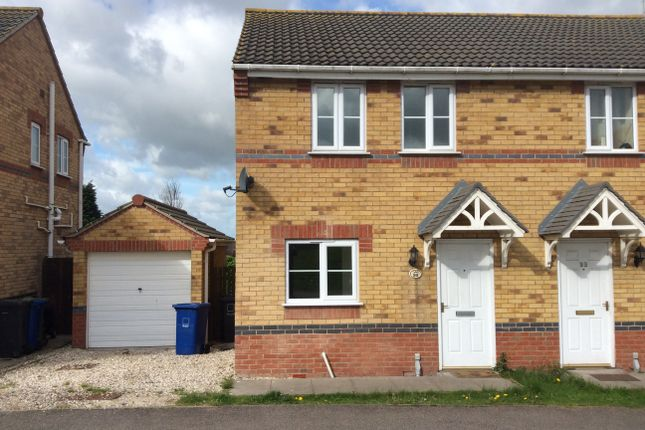 Thumbnail Semi-detached house to rent in Juniper Way, Gainsborough