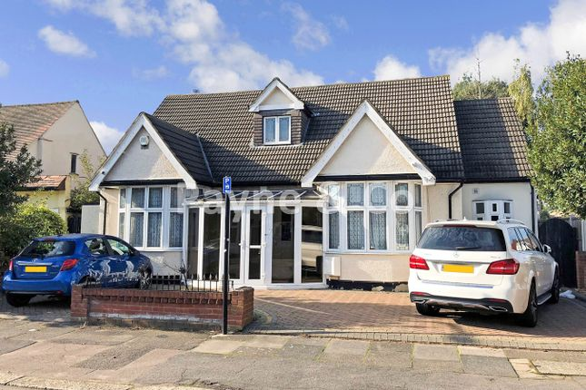 Thumbnail Detached bungalow for sale in Gyllyngdune Gardens, Seven Kings