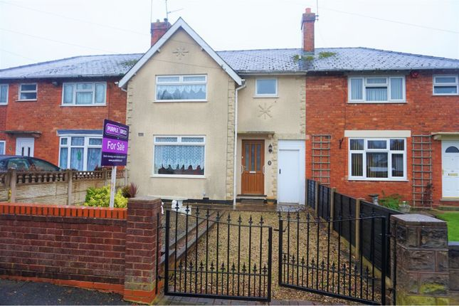 Thumbnail Terraced house for sale in Deepmore Avenue, Walsall