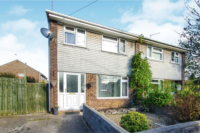 Thumbnail Semi-detached house for sale in Brunel Close, Barry