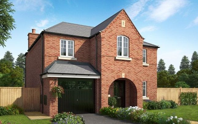 Thumbnail Detached house for sale in The Wharfdale, Herons Wharf, Appley Bridge, Wigan