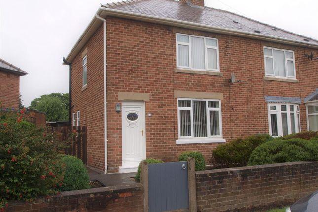 Thumbnail Semi-detached house for sale in Sunnyside, Cramlington