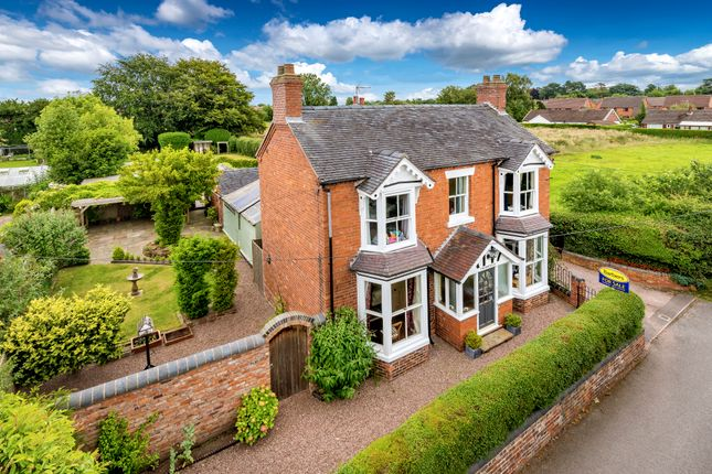 Thumbnail Detached house for sale in Longslow Road, Market Drayton