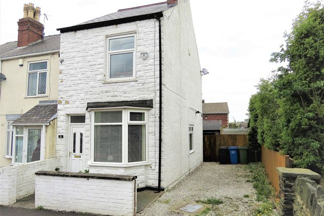 Thumbnail End terrace house for sale in Farnsworth Street, Hasland, Chesterfield