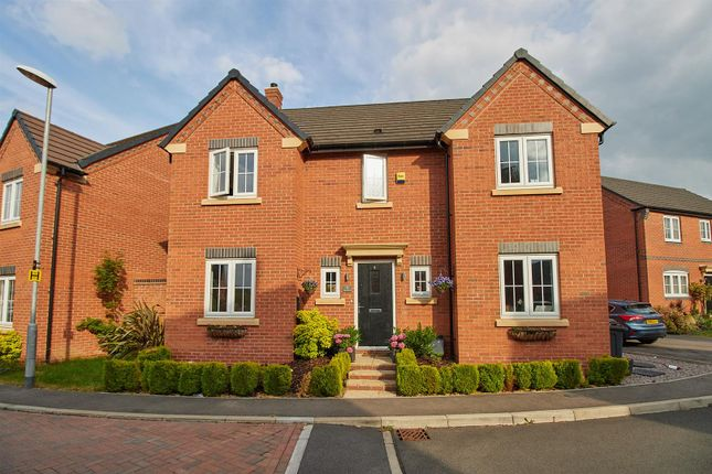 Thumbnail Detached house for sale in Plum Crescent, Burbage, Hinckley