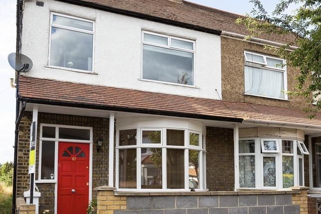 Thumbnail End terrace house for sale in Hecham Close, London