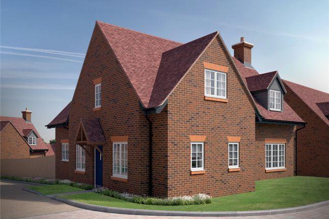 Thumbnail Detached house for sale in Plot 23, The Sanford, Saint's Hill, Slough Lane, Saunderton, High Wycombe, Buckinghamshire