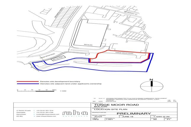 Thumbnail Land for sale in Land Adjacent To Tonge Moor Road, Bolton