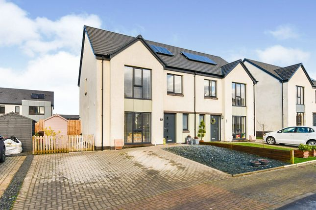 Thumbnail Semi-detached house for sale in Shaw Road, Kilmaurs, Kilmarnock