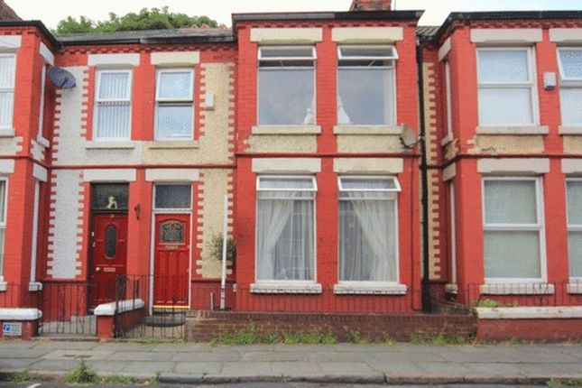 Thumbnail Terraced house for sale in Chestnut Grove, Wavertree, Liverpool