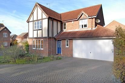 Thumbnail Detached house to rent in Earle Croft, Warfield