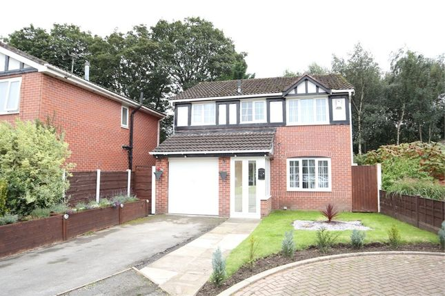 Thumbnail Detached house for sale in Dumers Close, Radcliffe, Manchester