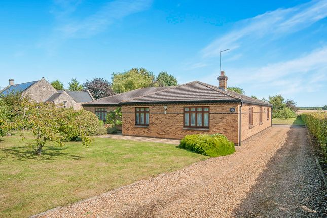 Thumbnail Detached bungalow for sale in Main Street, Tansor, Peterborough