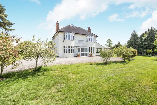 Thumbnail Detached house for sale in Cosby Road, Broughton Astley, Leicester