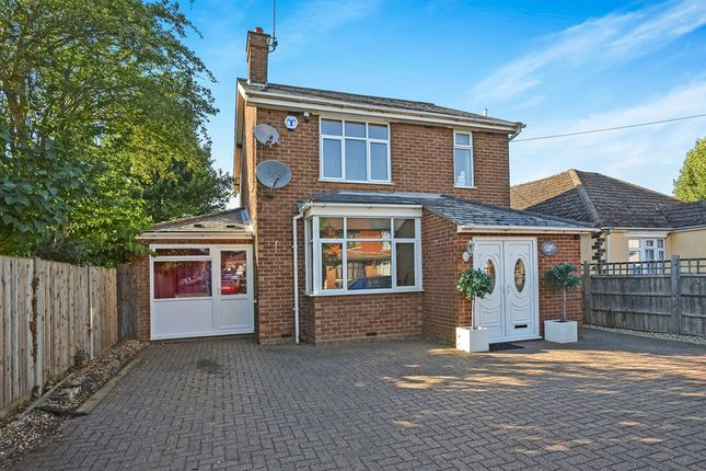 Thumbnail Detached house for sale in Newport Road, New Bradwell, Milton Keynes
