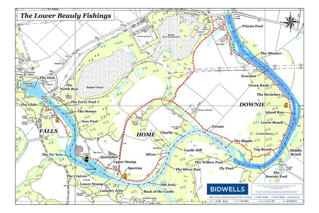 Picture No. 06 of Week 8 Lower Beauly Fishings, River Beauly, Beauly IV4