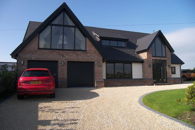 Thumbnail Detached house for sale in Bryning Lane, Wrea Green, Preston