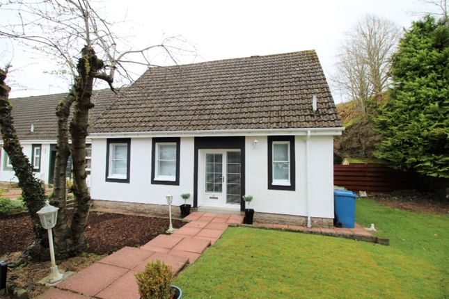 Thumbnail End terrace house for sale in Cameron Crescent, Carmunnock