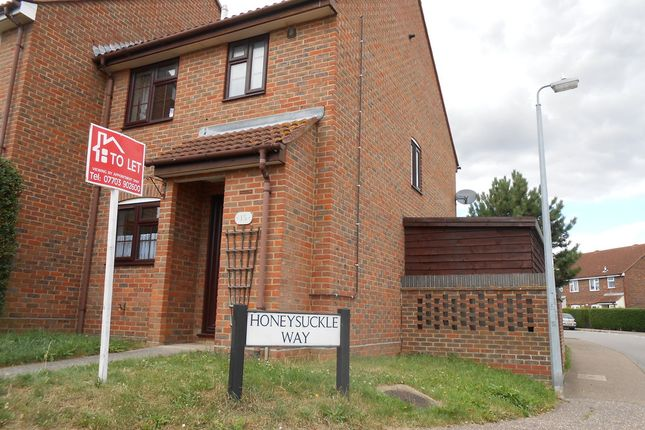 Thumbnail Terraced house to rent in Bramble Road, Witham, Essex