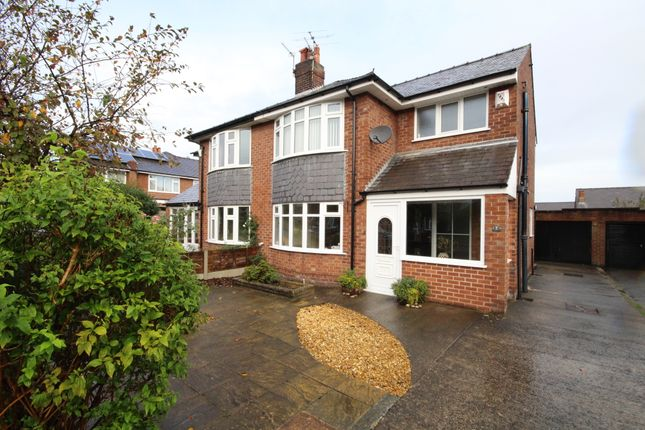 Thumbnail Semi-detached house to rent in Aspels Crescent, Penwortham, Preston