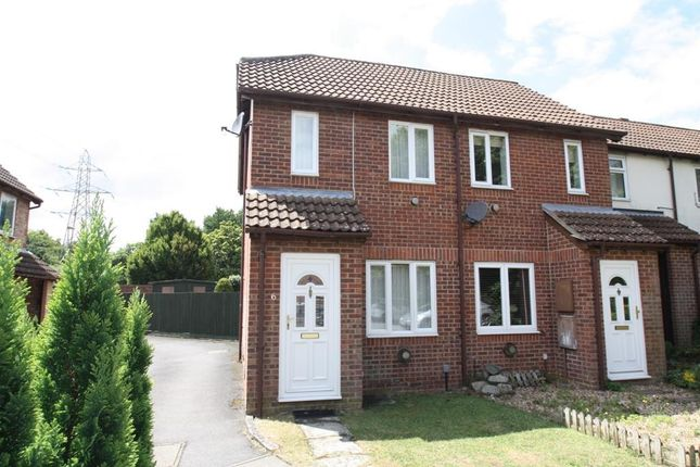 Thumbnail Semi-detached house to rent in Blackbird Court, Andover
