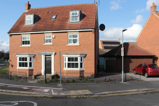 Thumbnail Detached house for sale in Hornscroft Park, Kingswood, Hull, North Humberside