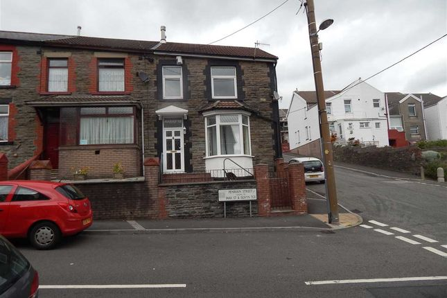 Thumbnail End terrace house to rent in Penmain Street, Porth