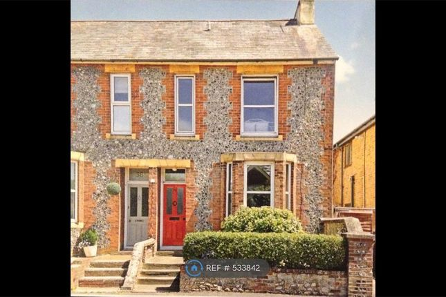 Thumbnail Semi-detached house to rent in Whyke Road, Chichester