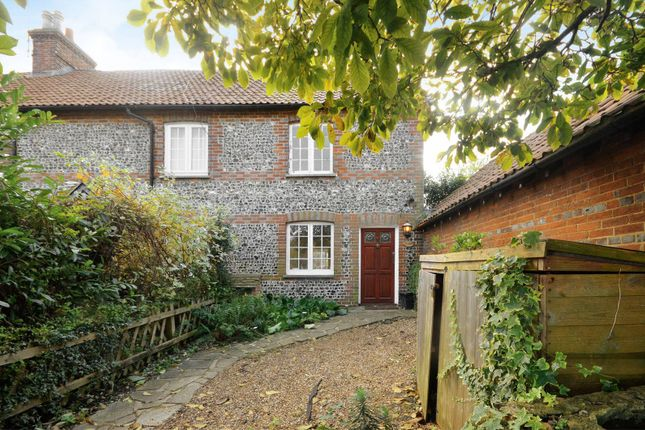 Thumbnail End terrace house to rent in The Street, Puttenham