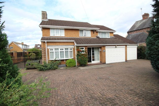 Thumbnail Detached house for sale in Park Road, Chilwell, Beeston, Nottingham