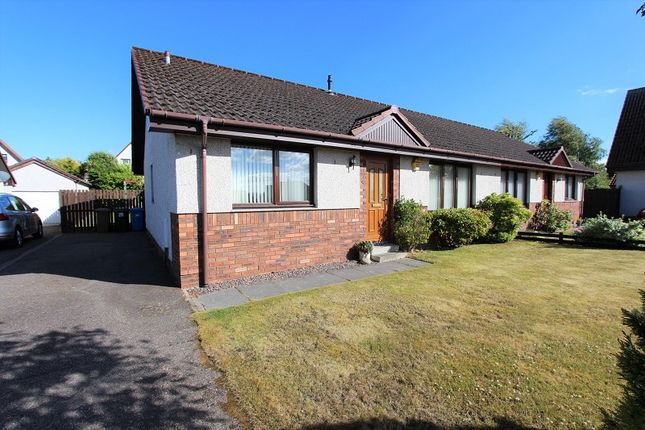Thumbnail Semi-detached bungalow for sale in 28 Wellside Road, Balloch, Inverness.