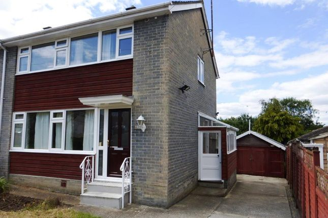 Thumbnail Semi-detached house to rent in Hardens Mead, Chippenham