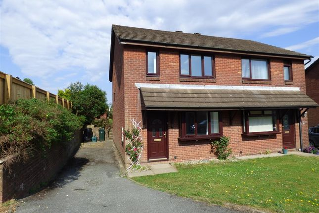 Thumbnail Semi-detached house to rent in Shelley Road, Priory Park, Haverfordwest