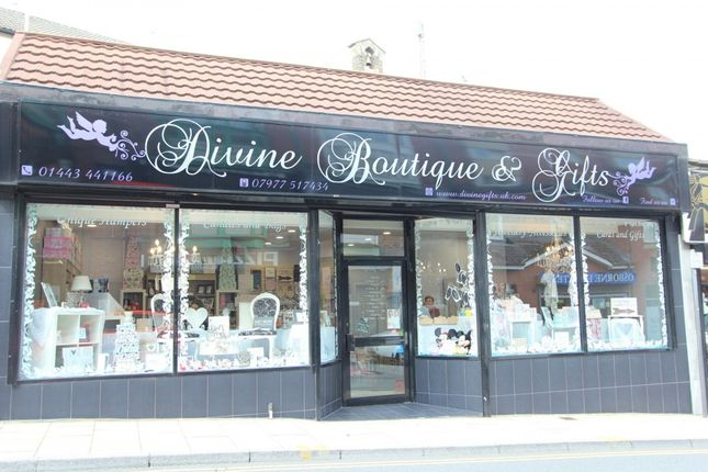 Thumbnail Retail premises for sale in Lower Dunraven -, Tonypandy