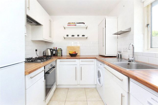 Thumbnail 1 bed flat to rent in Fairchild Close, Battersea, London