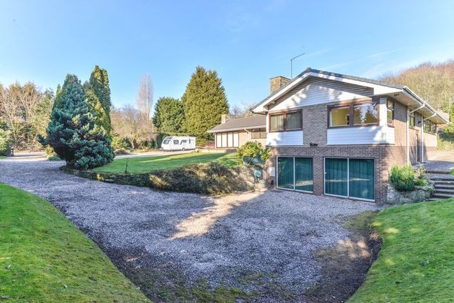 Thumbnail Bungalow for sale in Newcastle Road, Baldwins Gate, Newcastle-Under-Lyme