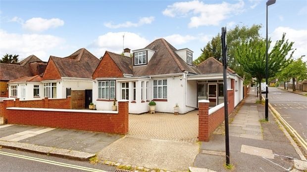Thumbnail Detached bungalow for sale in St Marys Crescent, Osterley, Middlesex