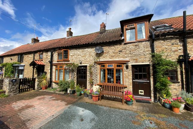 Thumbnail Terraced house for sale in Garth Cottages, Hall Garth Lane, West Ayton, Scarborough