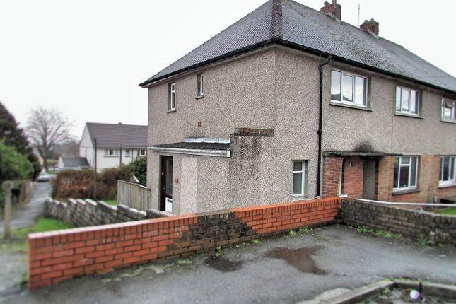 Thumbnail Flat for sale in Gelli Dawel, Caewern, Neath, West Glamorgan.