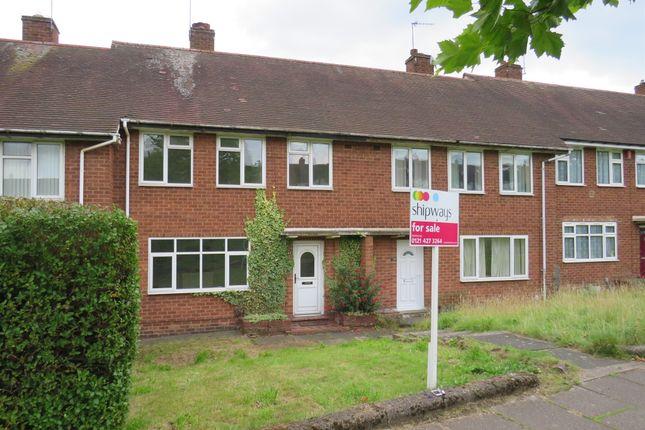 3 bed terraced house for sale in Quinton Road, Harborne, Birmingham