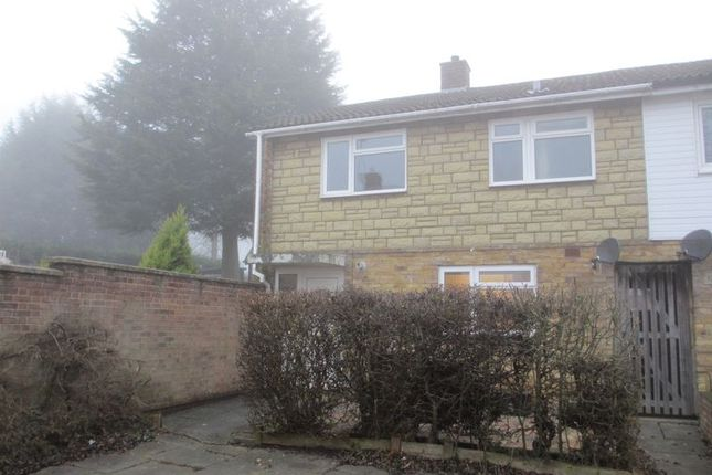 Thumbnail End terrace house to rent in Mobbsbury Way, Stevenage