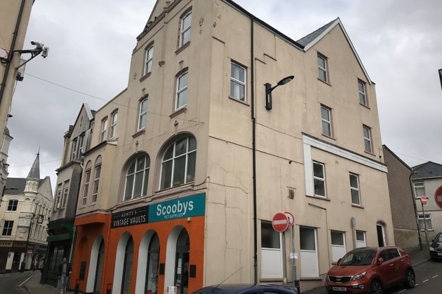 Thumbnail Retail premises for sale in 33-35 Somerset Street, Abertillery, Blaenau Gwent