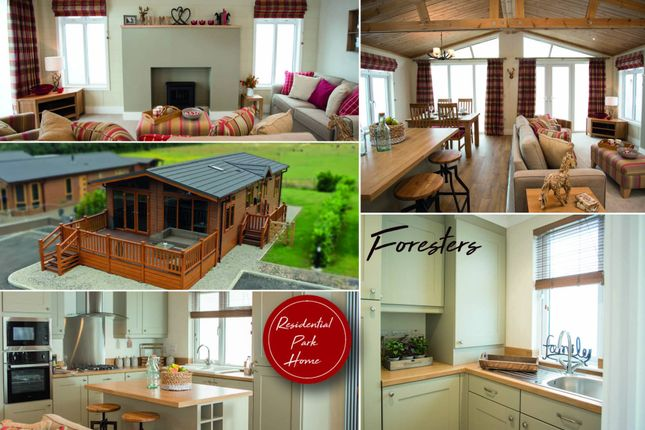 Thumbnail Lodge for sale in Glendevon Country Resort, Glendevon, By Dollar, Perth And Kinross