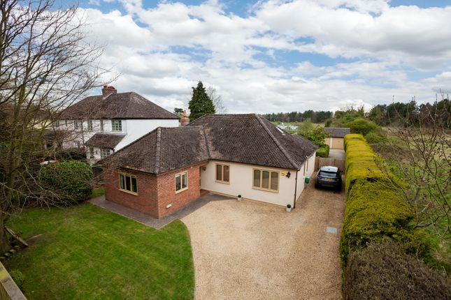Thumbnail Detached bungalow for sale in Hauxton Road, Little Shelford, Cambridge
