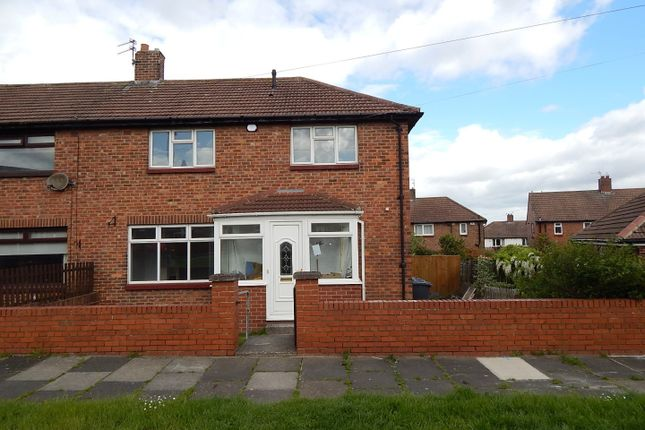Thumbnail Semi-detached house to rent in Hindmarch Drive, West Boldon, East Boldon