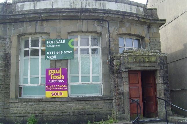 Thumbnail Commercial property for sale in Station Road, Cymmer, Port Talbot, West Glamorgan