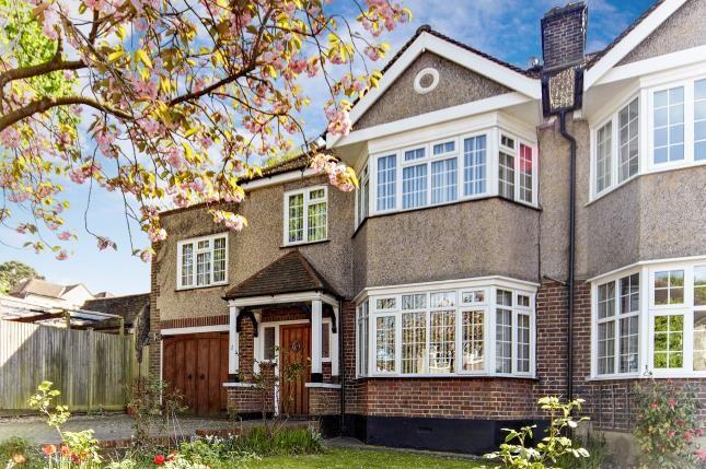 Thumbnail Semi-detached house for sale in Oaklands Avenue, West Wickham, Kent, .