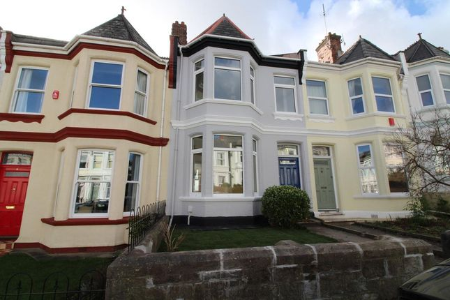 Thumbnail Terraced house for sale in Amherst Road, Plymouth