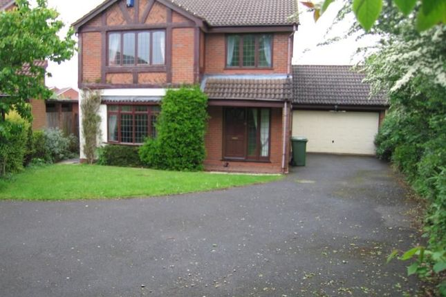 Thumbnail Detached house to rent in Shirehampton Close, Redditch